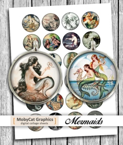 Mermaids Printable 2